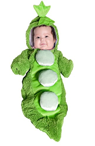 Underwraps Baby's Pea In A Pod, Green, Infant - 2 Peas In A Pod Costumes