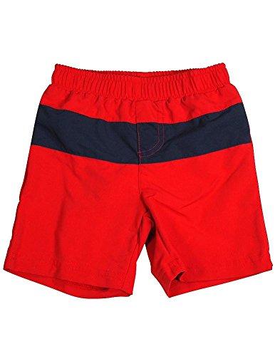 Bunz Kidz - Baby Boys Swimsuit, Dark Red, Navy 34970-24Months