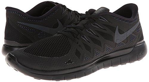 Men's Free 5.0 Black/Anthracite/Black Running Shoe 10.5 Men