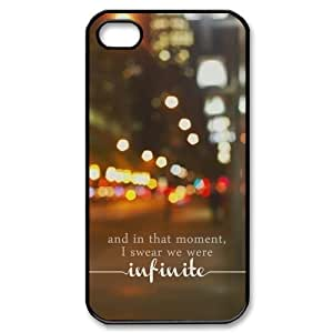 Perks of Being A Wallflower iPhone 4,4s Case Cover-Snap-on Hard Case - JD Design