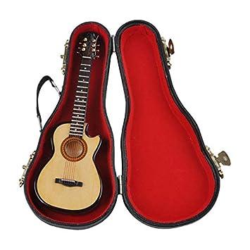 fghdf MG-245 Mini Adornos Musicales Arte de Madera de la Guitarra ...