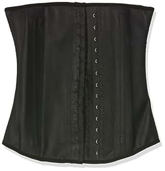 Ann Chery Women's Faja Clasica Workout Waist Cincher, Black, X-Small/30