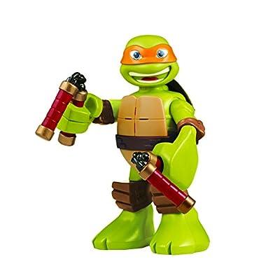 """Teenage Mutant Ninja Turtles Pre-cool Half Shell Heroes 6"""" Michelangelo Powersound Talking Turtles Figure"""