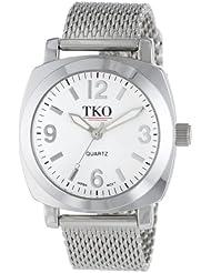 TKO ORLOGI Womens TK586S Milano Silver-Tone Watch with Mesh Band