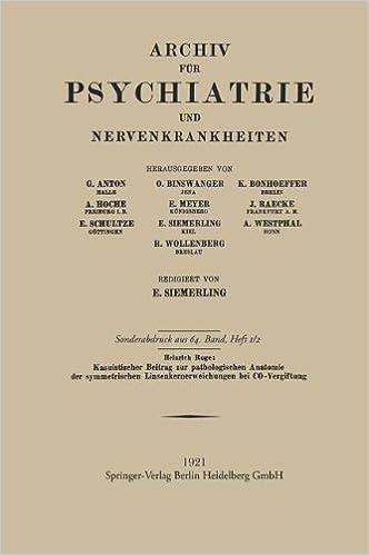 Kasuistischer Beitrag Zur Pathologischen Anatomie Der Symmetrischen