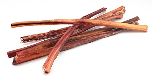 18 Inch Premium Thick Odor-Free Bully Sticks-10 Pack by My Bully Sticks