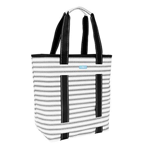 SCOUT Fit Kit Gym Tote Bag, Elastic Band Fits Yoga Mat or Towel, Water Resistant (College Ruled)