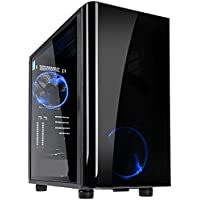 Centaurus Polaris 4T83 Gaming PC - Intel i7-8700K Six-Core 4.7GHz OC, 32GB RAM, Nvidia GTX 1080 Ti 11GB, 512GB NVMe SSD + 3TB HDD, Liquid Cooled, Windows 10, Tempered Glass, WiFi. 4K Gaming PC