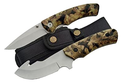 Rite Edge Camo 2 Piece Combo Knife Set