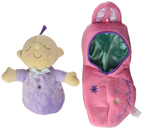41ZzQyPq1aL - Manhattan Toy Snuggle Pod Hunny Bunny First Baby Doll with Cozy Sleep Sack for Ages 6 Months and Up