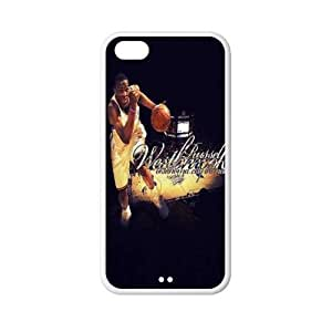 Number 0 Russell Westbrook plastic hard case skin cover for iPhone 5C AB686668
