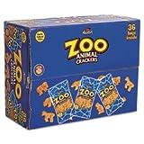 * Zoo Animal Crackers, Original, 2 oz Pack, 36/Box