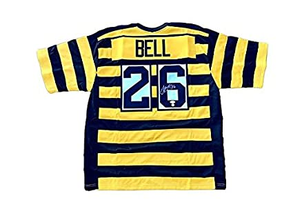 f9e977be7 Check out Le Veon Bell Pittsburgh Steelers Home 1934 Throwback Autographed  Jersey - JSA Authenticated