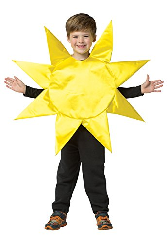 Sun Halloween Costume Toddler (Sun Toddler Costume - Small)