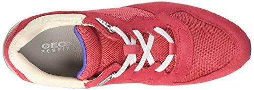 Geox D Shahira B - Zapatillas de deporte Mujer Rojo (C7008)