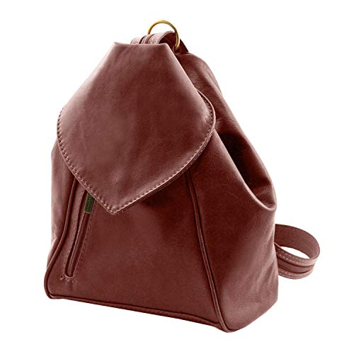 Tuscany Leather Delhi Leather backpack Red