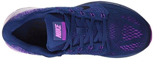 Nike Wmns Lunarglide 7 - Calzado Deportivo para mujer Brave Blue/Black-Vivid Purple