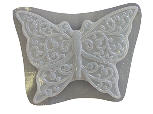 Large Butterfly Concrete Plaster Stepping Stone Mold ()
