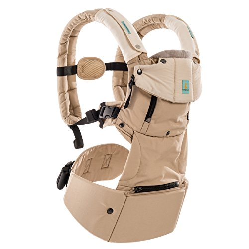 Baby Carrier 6 Position Soft Carrier Temperature Control Airflow Panel,Adjustable Baby Sling to  ...
