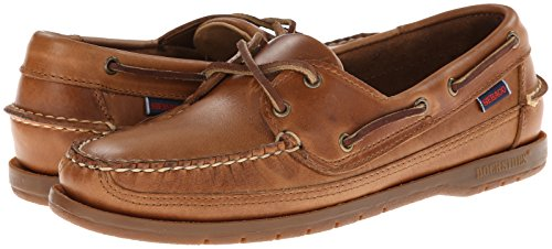 Mens Cognac Shoes Leather Sebago Cognac B759434 Leather Moccasin Schooner Classic dqxwwIgY