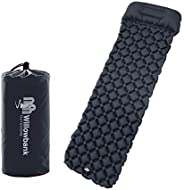 Compact Sleeping Pad for Camping - Comfortable Air Mattress for Adults, Ultralight Design for Backpacking or H