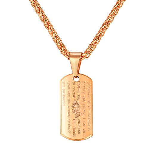 Rose Gold Dog Tags - 3