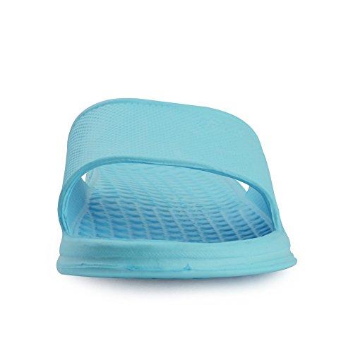 Equick Premium Dames En Heren Badslip Anti-slip Voor Binnenshuis Sandaal Blauw