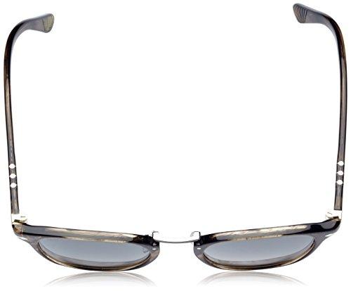 Adulto de Persol Unisex Greydarkgreypolar Sol Negro Cortexriped Gafas qRwP64wxZ