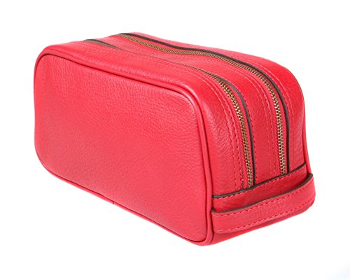 SAGEBROWN Red Toiletry Bag by Sage Brown (Image #3)