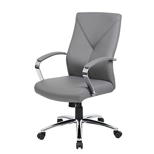 ioneyes-office-products-b10101-gy-leatherplus-executive-chair-in-grey
