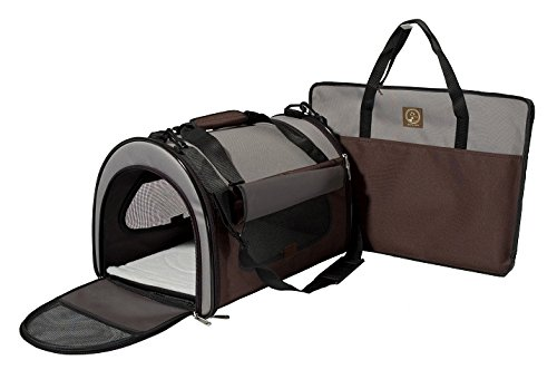 One for Pets Folding Pet Carrier, The Dome