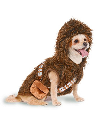Rubie's Star Wars Chewbacca Hoodie Pet Costume, Small -