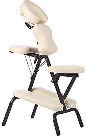 Image Unavailable. Image not available for. Colour Foldable Portable Massage Chair ...  sc 1 st  Amazon.co.uk & Foldable Portable Massage Chair - CREAM: Amazon.co.uk: Health ...