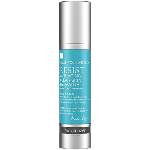 Price comparison product image Paula's Choice--RESIST Anti-Aging Clear Skin Hydrator Moisturizer--for Facial Blemishes, Sun Damage, Wrinkles, Discoloration--1.7 oz Bottle