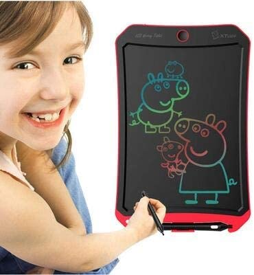 22.614.71.5cm writing tablet early education intelligence students pink suitable for children blue exquisite electronic component materials Hongyushanghang LCD tablet red