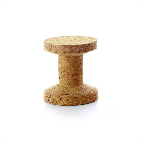 Cork Family Solid Cork Stools by Vitra, Model = B