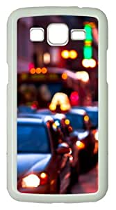 Samsung Galaxy Grand 2 Case - Times Get Hard PC Hard Case Cover For Samsung Galaxy Grand 2 / Samsung Galaxy 7106 - White