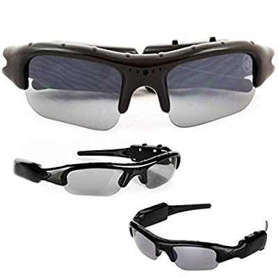 SpyGear-SpyCrushers Spy Video Glasses & Camera Glasses, Best Wireless Hidden Camera and Recording Sunglasses Available, Features Video Recorder, Photo & PC Webcam, Satisfaction Guarantee - Crushers, Inc