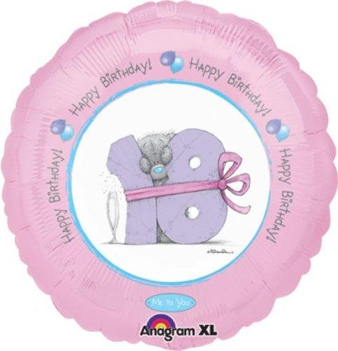 18'' Happy Birthday 18th Bear