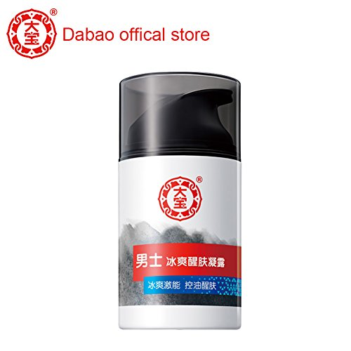 (Dabao Men's Moisturizing Lotion Gel Anti Aging Retinol Moisturizer Cream Face Moisturizer for Men Aftershave Lotion Damage Defense for Dry,Oily,and Wrinkle and Acne-Prone Skin Refreshing Icing)