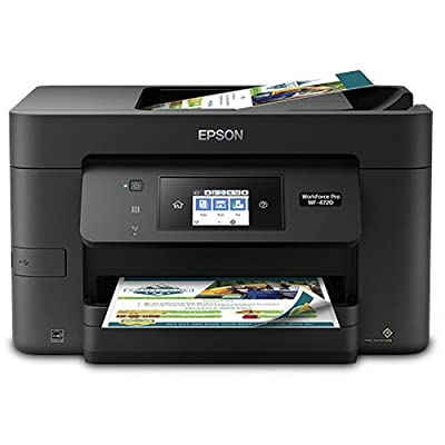 Epson WorkForce Pro Wireless All-in-One Color Inkjet Printer, Copier, Scanner with Wi-Fi Direct