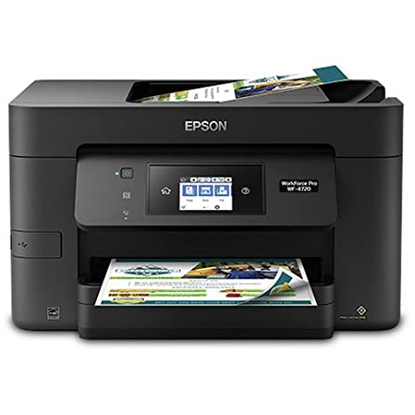 Amazon.com: Epson Workforce Pro - Impresora de inyección de ...