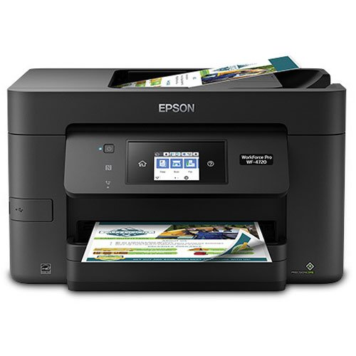 Epson Workforce Pro WF-4720 Wireless All-in-One Color Inkjet Printer, Copier, Scanner