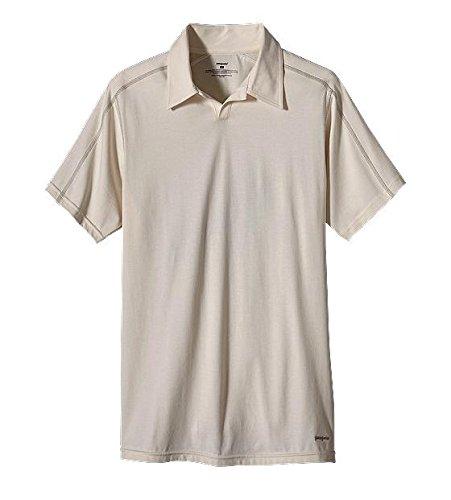 Patagonia - Slim Fit - Stretch Polo shirts (RAW LINIEN, M)