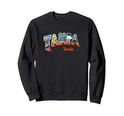 - Tampa Florida FL Retro Vintage Souvenir Sweatshirt