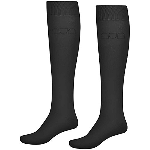 Long Two Pack Womens Cavallo Riding Black Socks qaZ04