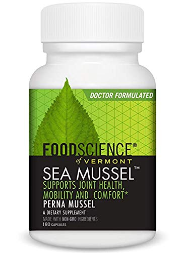 FoodScience, Sea Mussel, 3Pack (180 Capsules) Optimizes Nutrient by FoodScience of Vermont (Image #1)