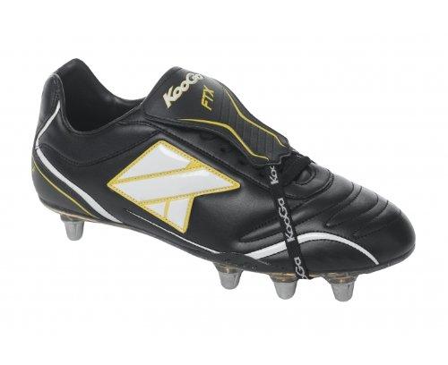 KOOGA FTX LCST Chaussures de Rugby pour homme, Noir, 41