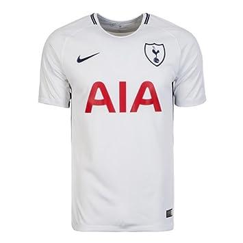 Nike Thfc Y Nk BRT Stad JSY SS Hm Camiseta 1ª Equipación Tottenham Hotspur FC 17-18, Unisex niños: Amazon.es: Deportes y aire libre