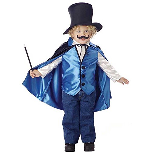 Toddler Magician Halloween Costume (2-4T) (Fancy Dress Magician)